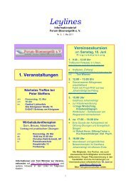 Leylines - Forum-Bioenergetik eV