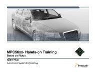 MPC56xx- Hands-on Training