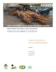 china and forest trade in the asia-pacific region - Forest Trends