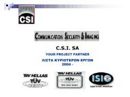 C.S.I. SA