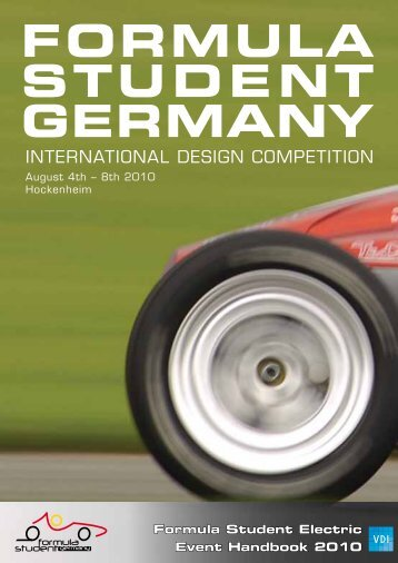 Formula Student Electric Event Handbook 2010