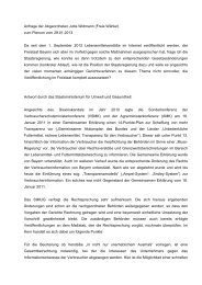 Anfrage der Abgeordneten Jutta Widmann - Freie Wähler Bayern