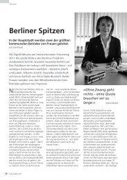 Berliner Spitzen - Deutscher Frauenrat