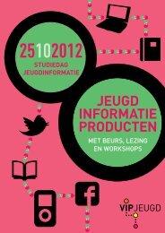 met beurs, lezing en workshops studiedag jeugdinformatie