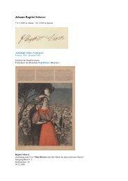 Johann Baptist Scherer - Gästebücher von Schloss Neubeuern