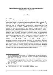 Die Alternativenprüfung nach Art. 6 Abs. 4 FFH-RL: Rechtsdogmatik ...