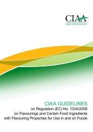 CIAA GUIDELINES - FoodDrinkEurope