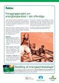Råd til det sjove, Energibesparelser i daginstitutioner - Page 6