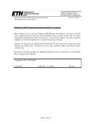 Seite 1 von 11 Prüfung SS 2007 Chemieingenieurwissenschaften, 4 ...