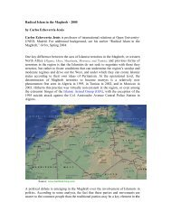 Radical Islam in the Maghreb - Foreign Policy Research Institute