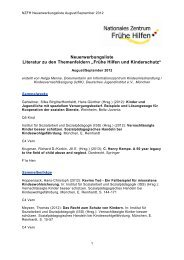 NZFH Literaturliste August-September 2012 - Nationales Zentrum ...