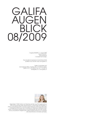 08_August 2009.pdf - Galifa Contactlinsen AG