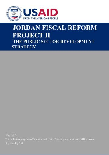 The Public Sector Development Strategy - Eng - Frp2.org