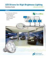 LED Drivers for High-Brightness Lighting - Newark