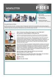 Newsletter April 2011 - FREI AG