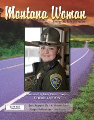 CHERIE LOFTON - Gallatin County, Montana