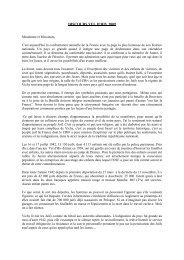 DISCOURS VEL D'HIV 2009 - Fondation pour la Mémoire de la Shoah