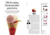 Mit Scooping Zusatzumsätze generieren - Hotellerie et Gastronomie ...