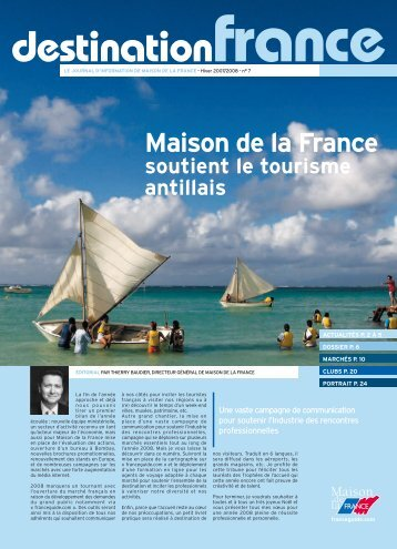 Maison de la France soutient le tourisme antillais destination