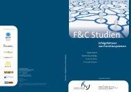 Erfolgsfaktoren von Franchisesystemen - F&C