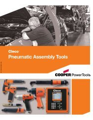 Pneumatic Assembly Tools - Specma Tools