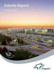 Group Interim Report January 1 to June 30, 2008 - Fraport AG