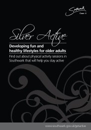 Silver Active booklet (for over 60s) - Fusion Lifestyle