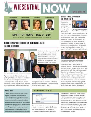 download - Friends of Simon Wiesenthal Center For Holocaust Studies