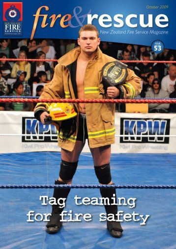 Tag teaming for fire safety - New Zealand Fire Service