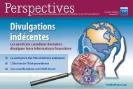 Perspectives - Automne 2011 - Fraser Institute