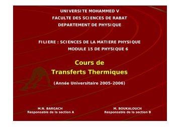 Introduction - Faculté des Sciences Rabat