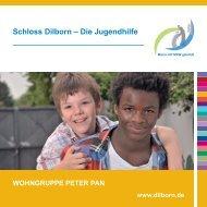 Kinderwohngruppe Peter Pan - Schloss Dilborn - Die Jugendhilfe