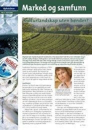 Nyhetsbrev fra Marked og samfunn, 6/2005
