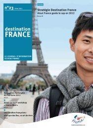 Stratégie Destination France - Maison de la France