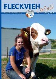 The magazin for Fleckvieh breeding