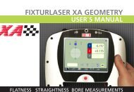 user´s manual fixturlaser xa geometry