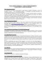 Visualizza Regolamento - Fondazione dei Dottori Commercialisti e ...