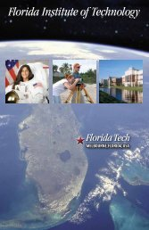 Download Sample - Florida Institute of Technology
