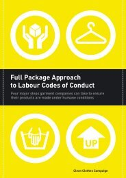 Full Package Approach to Labour Codes of Conduct - UN.GIFT.HUB ...