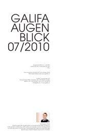 Galifa-Newsletter Juli 2010.pdf - Galifa Contactlinsen AG