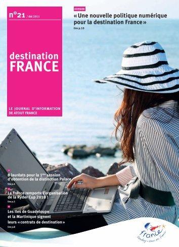 « Une nouvelle politique numérique pour la destination France »