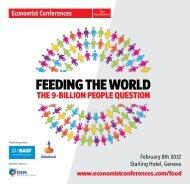 Download Feed the World Summit brochure - FoodDrinkEurope