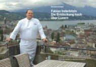 Fabian Inderbitzin Die Entdeckung hoch über Luzern
