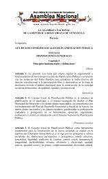 Ley de los Consejos Locales de Planificación - Dirección de ...