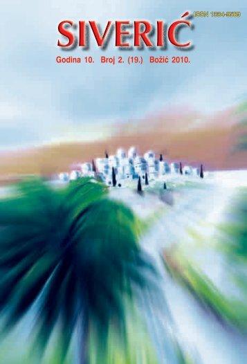 Godina 10. Broj 2. (19.) Božić 2010.