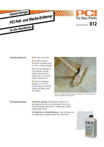 PCI Fett- und Wachs-Entferner - Fliesen Lerche