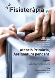 Atenció Primària, Assignatura pendent - Col·legi de Fisioterapeutes ...