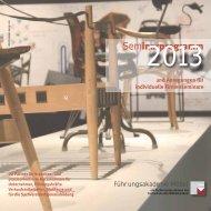 Seminarprogramm - Führungsakademie für die Möbelwirtschaft GmbH