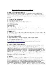 Bases legales: Concurso de un viaje a AmberesES PROMOCIÓN ...