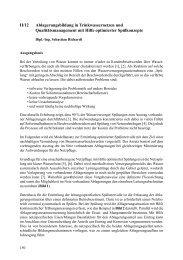 II/12 Ablagerungsbildung in Trinkwassernetzen und ... - FITR